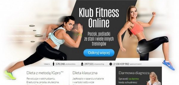 Kampania Vitalia.pl promująca treningi online